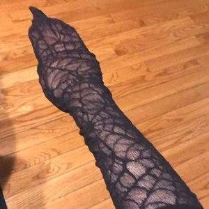 Spiderweb tights